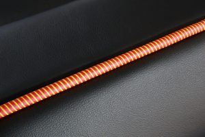 Leedum - Embossed and Debossed leather piping